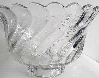 Fostoria Crystal Punchbowl Colony Pattern