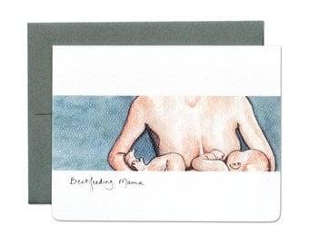 Bestfeeding Mama Card