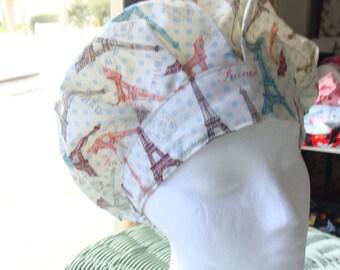 Paris Dreams Bouffant  Style..............Surgical Hat....Bakers Hat