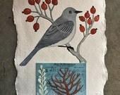 Bird No.11 Original Watercolor