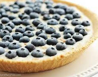 Fragrance Oil Candle Scent - 1oz - BLUEBERRY PIE - candle fragrance, scent oil