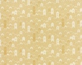 Persimmon Sun Arrow/Herringbone by Basic Gray for Moda Fabrics Half Yard