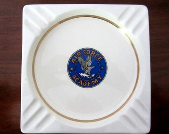 Air Force Academy Ceramic Ashtray