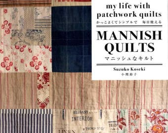 MANISH QUILTS My Life with Patchwork Quils - Japanese Craft Book