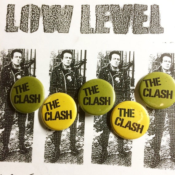 "The Clash 1.25"" pinback button"