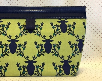 Meadow Stag Snappy Pouch - 2 sizes