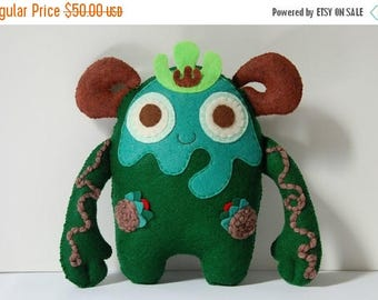 35% SALE Birch The Spirit Of The Forest / Plush Monster Stuffed Toy