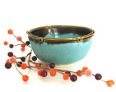 Small Serving Bowl - Nut Bowl - Candy Bowl - Salsa Bowl - Hand Thrown Stoneware - Ready to Ship