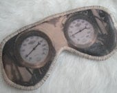 Freak Them Out Sleep Mask PRESSURE RISING * FreakyOldWoman FOW sleep mask eyes blindfold gauges steampunk steam
