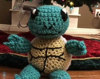 Pokemon Go Squirtle plushie Squirtle toy Squirtle stuffed animal