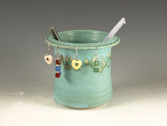 earring holder by hodakapottery on etsy