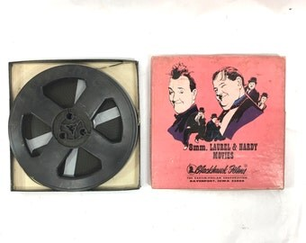 The Music Box vintage 8mm film Laurel and Hardy Movies by Blackhawk films movies 810-530 original box piano moving plot