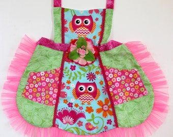 Owl in the Forest Apron