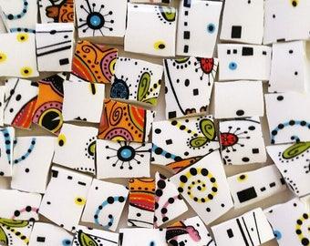 Mosaic Tiles--Narly Orbit--48 Tiles--