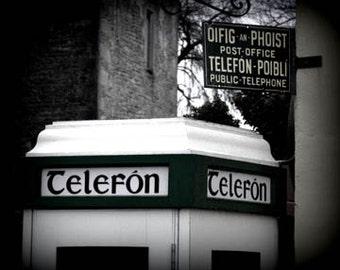 Telefon Ireland - Original Signed Fine Art Photograph