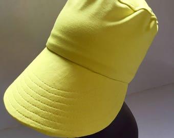 Lemon Yellow HerHat Cap