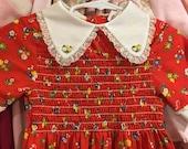 1970s Girls Dress 4T