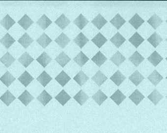 Checkerboard Stencil, Art Journal, Mylar Stencil, Reusable Stencil, pochoir, journal stencil, scrapbook stencil, checker board, art stencil