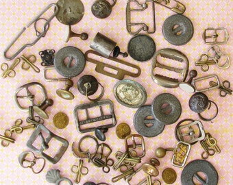 Curious Findings...Fantastic Lot of Funky Vintage Metal Findings