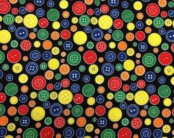 Button fabric 1 yard x 42 inches
