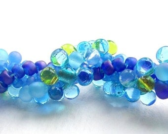 Beading Tutorial - 42 Bubbly Braid Bracelet, Bead Pattern, Seed Beadweaving, Beginner Level, Spiral Rope, Right Angle Weave