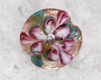 Handmade focal butterfly wing floral by joycelo