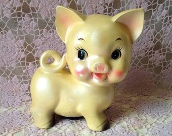 Ceramaster Piggy Bank, Vintage