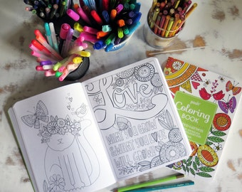 Inspired Garden POSH Colouring Book