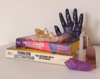Vintage Carlos Castaneda Books Vtg 1970's Vtg 1960's Occult Boho Books Sorcerer Shaman Yaqui Don Juan Books Desert Literature Mexican Boho