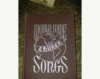 Church Hymnal, Worldwide Church Songs Hardcover – 1947, Church Hymnal, Religious music