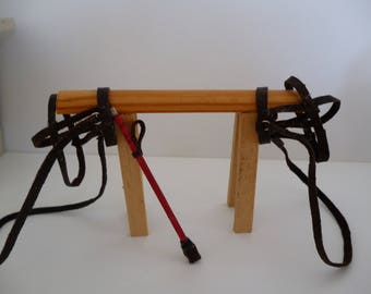 Miniature  Whip and Bridle one 12th scale