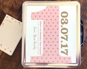 Time Capsule, baby keepsake, wedding time capsule, custom baby gift, metal lunchbox, personalized