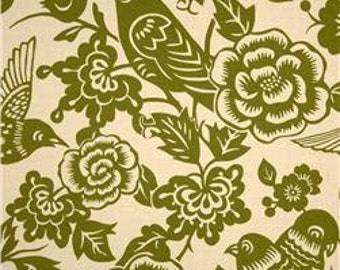 Thomas Paul Aviary Moss Fabric by the yard