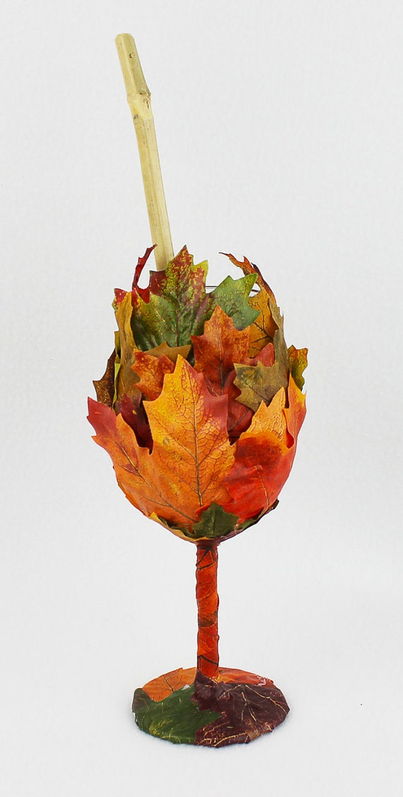 Autumn Leaf Goblet from On Gossamer Wings