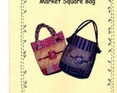 Sewing Pattern, Market Square Bag Pattern, Paper Pattern, Bag Pattern