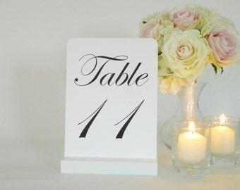 Card Holder + Table Number Holder + White Table Number Holder