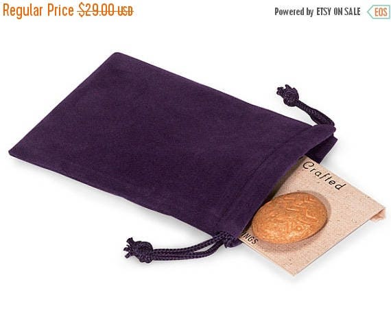 Spring Sale 10% off 100 Pack Deep Purple Velvet Drawstring Bags great for Weddings, Party favors, Jewelry, Etc
