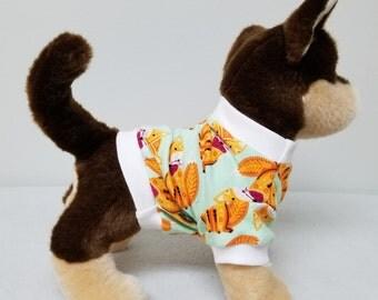 Dog Clothes Foxy Tshirt, Chihuahua, Yorkie
