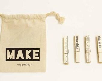 Make Clothespins Set by Moda