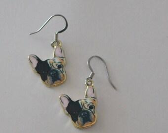 BOSTON TERRIER DOG Earrings - Pet
