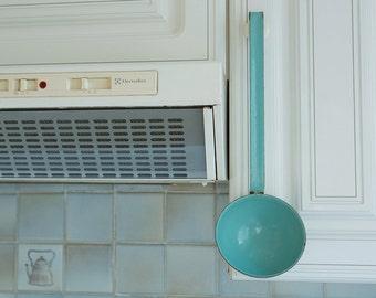 French Vintage Enamel Ladle