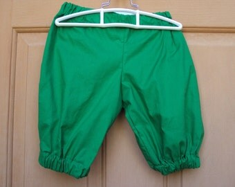 Christmas Green Knickers, Elf costume knickers, Childrens sizes  Halloween costume