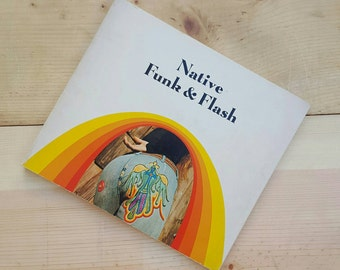 Native Funk & Flash // 1974 Second Printing Paperback Folk Art Book by Jacopetti and Wainwright