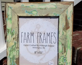8 x 10 FUNKY old wood picture frame