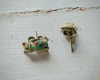 Vintage Cat Earrings
