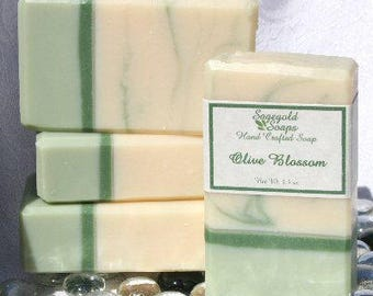 Olive Blossom Handmade Cold Process Soap