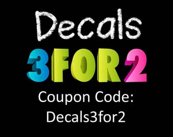 Coupon Code For Vinyl Decals