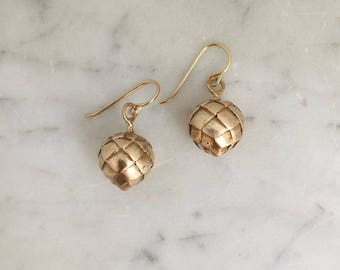 ARTICHOKE EARRINGS
