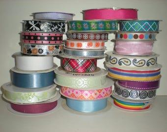 Ribbon-Clearance-Crafting Surplus-Bulk Ribbon- Ribbon Variety