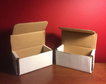50 4 x 2 x 2 White Corrugated Mailing Boxes Shipping Boxes Shipping Supplies Wholesale